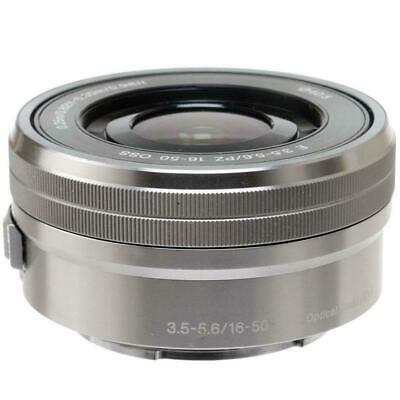 Sony E PZ 16-50mm f/3.5-5.6 OSS Lens for Sony E-Mount Cameras Silver Brand New!