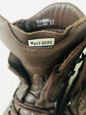 Altberg Boots size 10 Used Navy Army RAF Military