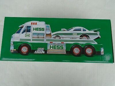 2016 Hess Toy Truck And Dragster, New In The Box Batteries Included