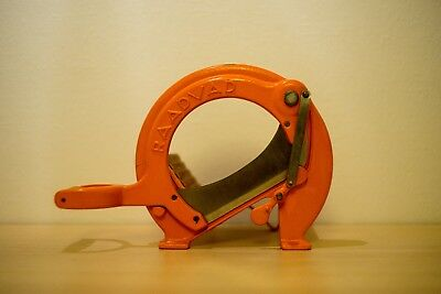 RAADVAD , vintage bread cutter, Danish design, Orange model 294