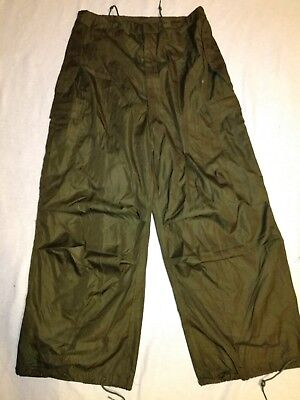 NEW OLD STOCK 1952 US ARMY M-1951 ARTIC TROUSER PANTS Small Regular SHELL ONLY