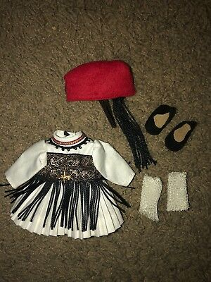 Madame Alexander Greece 527 Outfit International Miniature Showcase Vintage 8""