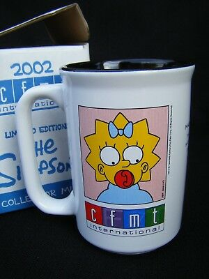 The Simpsons Maggie Mug 2002 Limited Edition 1 of 1000 CFMT Rogers - RARE