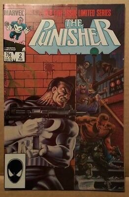 Marvel Comic Book - PUNISHER #2 FIRST SERIES 9.6 CGC READY - 1986 - NM+ RARE 2