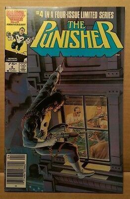 Marvel Comic Book - PUNISHER #4 FIRST SERIES 9.6 CGC READY - 1986 - NM+ RARE 4