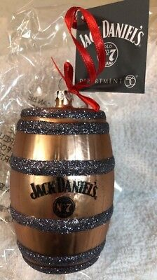 Dept 56 Jack Daniels Barrel Christmas Ornament # 4057388