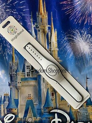 Disney Parks Bright White Solid Color Magic Band Magicband New