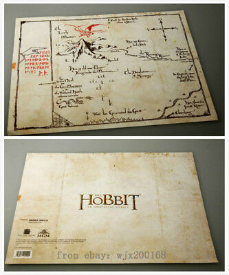 Prop Collect The-Lord-Of-The-Rings-Middle Earth The Hobbit Sorin Treasure Map