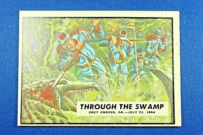 "1962 Topps Civil War News - #73 ""Through The Swamp"" - Excellent Condition"