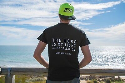 """Lord is my light"" T-shirt Men's and Women's"