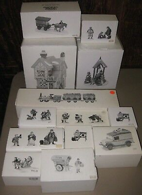 """(13) NEW Dept 56 Dickens' Village Accessories """"THE FLYING SCOT"""" TRAIN"""