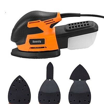 Anesty Mouse Detail Sander 13000 OPM Electric Sanding Machine with LED Light New