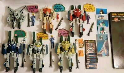 Macross 15th Limited Action Figure Lot VAKYRIE Japan Official Figures Robotech