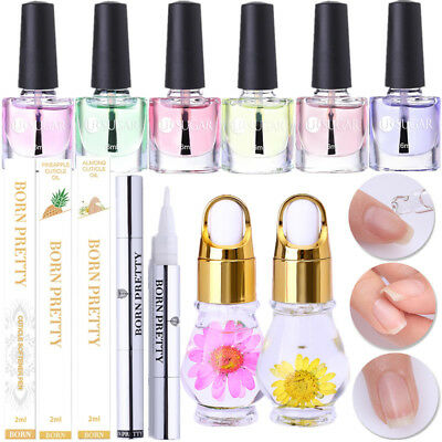 Fruit Flavor Nail Cuticle Oil Dead Skin Remover Softener Pen Nutrition Care Tool