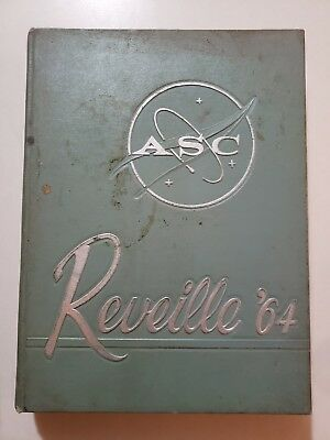 1964 Reveille Yearbook,Arlington State College,Texas,A&M,Rebels