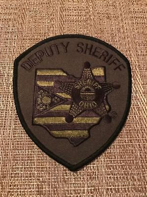 Ohio OH Deputy Sheriff Subdued Tactical Police Patch