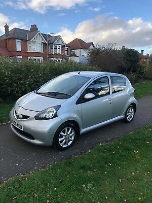 Toyota Aygo Platinum 1.0vvti Automatic 2008 half leather seats 5doors HPI clear