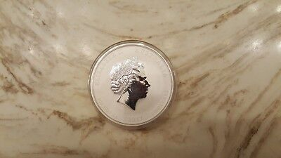 2017 2 Ounce Silver YEAR OF THE ROOSTER COIN