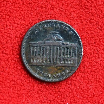1837 Hard Times Token - New York Joint Stock Exchange Company