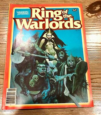 Warren Presents Ring of the Warlords #1 1979 Raw Ungraded Uncertified Comic Book