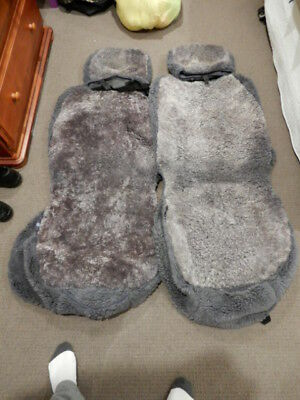 Toyota 90 Series Prado Lambswool seat covers