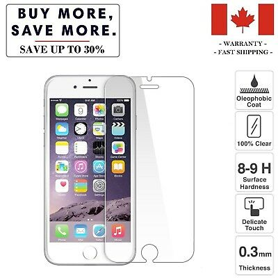 Tempered Glass Screen Protector for X XR XS/XS Max 8/8 Plus 7/7 Plus 6/6 Plus 5s