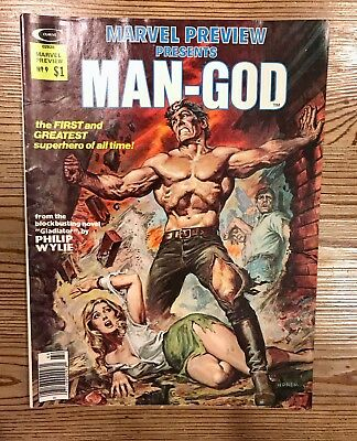 Stan Lee Presents: Marvel Preview #9  Man-God Raw Ungraded Comic Book