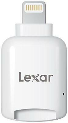 NEW Lexas by Micron MicroSD to Lightning Reader Connector for Apple iPhone iPad