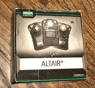 MSA ALTAIR H2S SINGLE GAS MONITOR DETECTOR Oilfield Refinery Hydrogen Sulfide