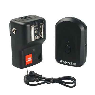 PT-04GY 4 Channels Wireless Radio Flash Trigger with Receiver for Canon Nikon