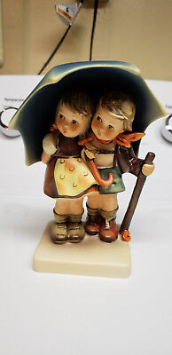 "Hummel Stormy Weather #71 Germany Porcelain Figurine TMK5 6"" TALL"