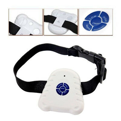 Waterproof Ultrasonic Anti-Bark No Shock Stop Barking Pet Dog Training Collar
