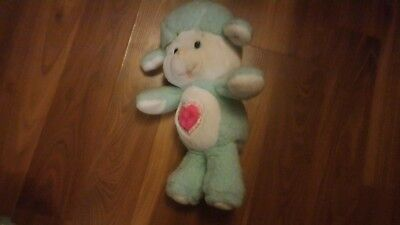 1985 Care Bear Cousins Gentle Heart Lamb Vintage Plush 80's
