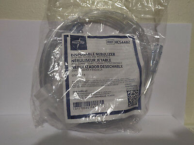 Lot of 5 - Medline Disposable Nebulizer - HCS4482 - Tee, Tubing, and Mouthpiece