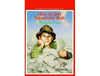 How to Get Fabulously Rich ▰ Thomas Rockwell ▰ Paperback ▰ 2nd Printing Yearling