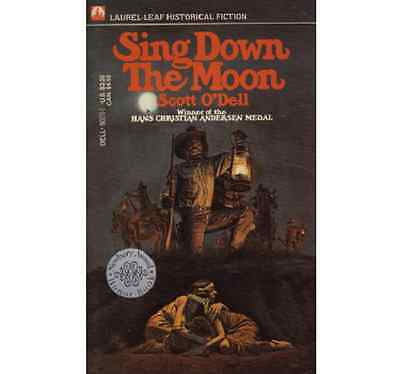 Sing Down The Moon ▰ Scott O'Dell ▰ Paperback ▰ Dell Publishing '76 ed, 23rd ptg