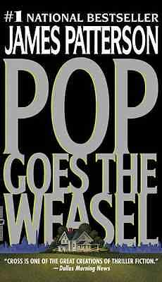 NEW Pop Goes The Weasel ▰ James Patterson ▰ Paperback 3rd Printing Warner Vision