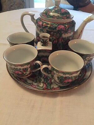 Service A The Ancien En Porcelaine Chinoise