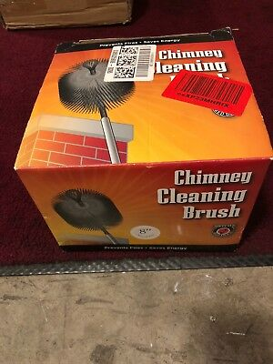 Round Poly Chimney Brush,No 33190,  Meeco Mfg Co Inc