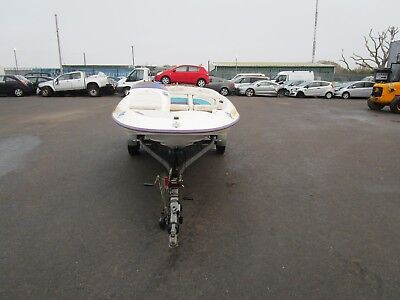 Bayliner Jazz 29 S2 Yd Speed Boat & Trailer Spares Or Repairs