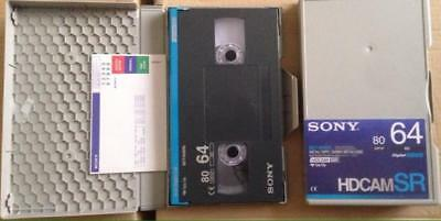 Sony Bct-64Srl Hdcam Sr Certified Evaluated Video Tape