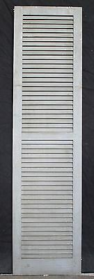 """3 avail 17.5""""x68"""" Vintage Wood Wooden Window Shutter Cabinet Pantry Louver Door"""