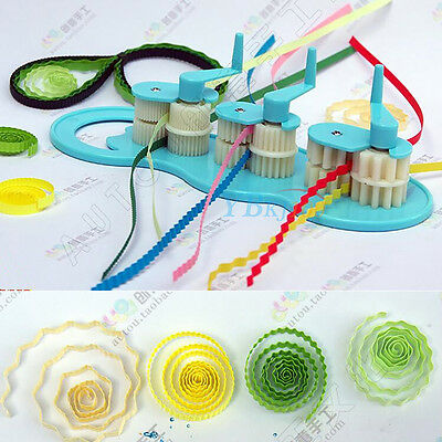 Plastics Paper Quilling Crimper Machine Crimping Paper-Craft Quilled Tool DIY SP