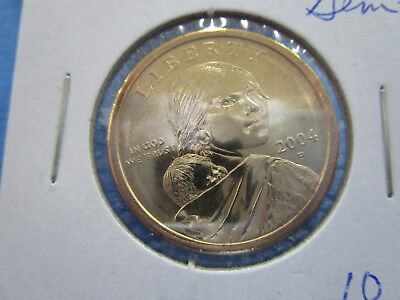 2004 -P SACAGAWEA Golden Dollar Native American PROOF LIKE  Coin US Mint