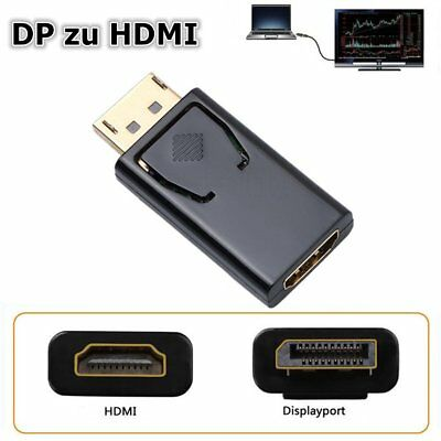 Display Port Stecker auf zu to HDMI Adapter DP zu auf HDMI 1080P HD Monitor