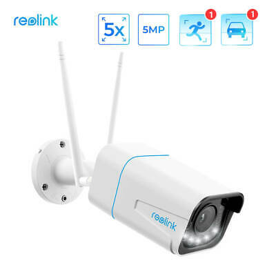 Reolink 5MP HD 2.4/5G Dual-WiFi IP Camera Autofocus 4X Optical Zoom Bullet 511W