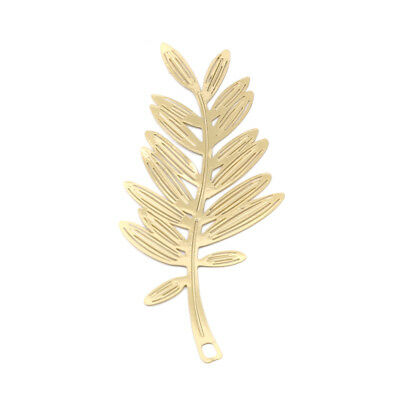 Hollow Olive Branch Gold Coloured Bookmark For Collection Gift LH