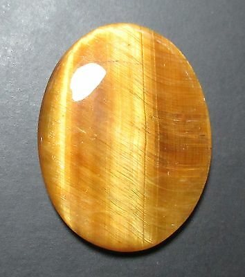 46.80 Cts Natural Tiger Eye Cabochon Oval Shape Loose Gemstone B 5927