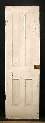 "22.5""x75"" Antique Vintage SOLID Wood Wooden Interior Cabinet Pantry Closet Door"