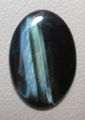 Natural Blu Tiger Eye Cabochon Oval Shape 24.10 Cts Loose Gemstone D 4936